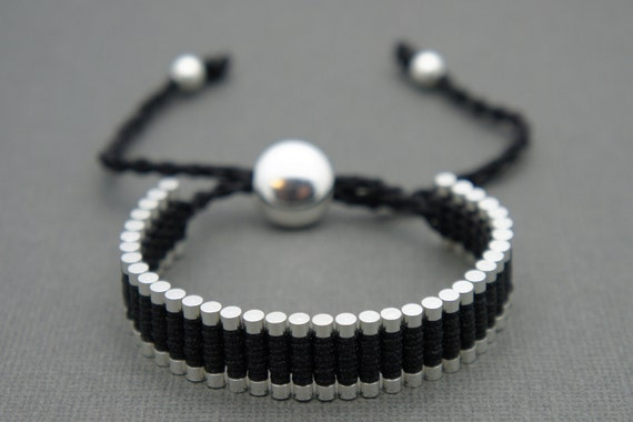 Link Friendship Bracelet - Black (One Direction) - ON SALE