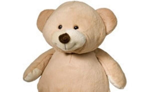 Adorable Soft Plush Teddy Bear Custom Embroidered Monogram