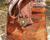 QUEBEC -- Kilim Carpetbag, one of a kind, vintage, Tribal --CUSTOM ORDER
