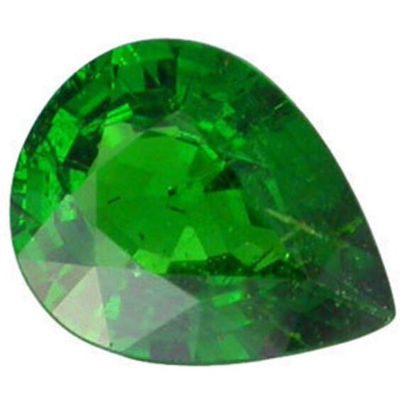 Tsavorite Green Garnet 8.4 x 6.6 MM Oval Shape Loose Gemstones 1.37 Carat
