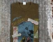 1980s Surfer Tee / Vintage Surf T-Shirt