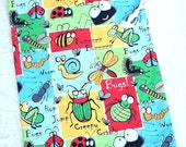 Kids Pajama Overnight Bag, Cute Cloth Drawstring Bag, Eco Friendly Gift Bag