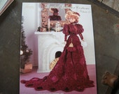 Paradise Publications-Crochet Collector Costume-vol.64-1899 Turn of the Century Lady Costume instuction booklet