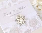 Wedding Invitation - The 'Elizabeth'