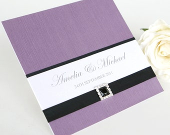 Wedding invitation - The 'Chelsea'