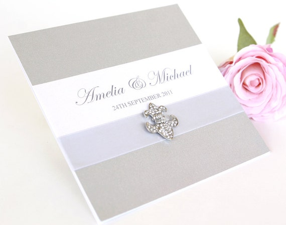 Wedding Invitation - The 'Chantelle'