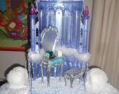 Ooak custom Monster high Abbey themed palace