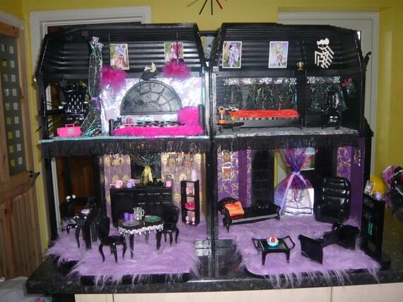 Go Back gt Gallery For Custom Monster High Doll House