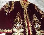 Elaborate Long Coat -Period Costume - Wedding - Downton Abbey  Thanksgiving, Black Friday, Cyber Monday, Christmas