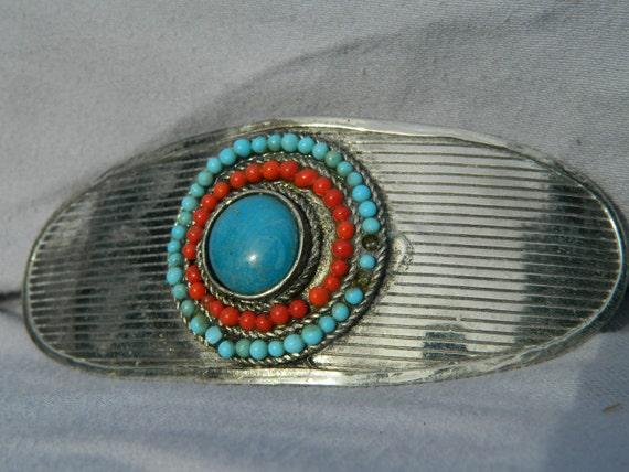 Vintage Native America Hair Clip  Southwest  Thanksgiving, Black Friday, Cyber Monday, Christmas