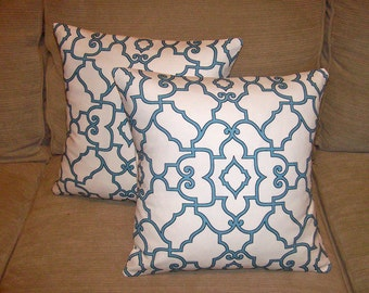 SALE Windsor Mariner Blue Pillow covers