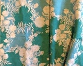 Vintage fabric 1970s or 1960s, slightly see through - Ideal for vintage skirts etc