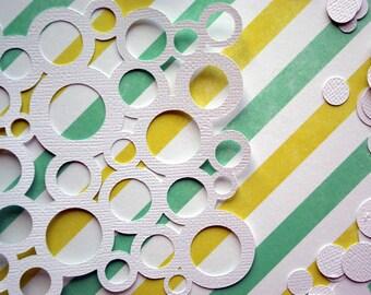 Bubble Die Cut & Confetti