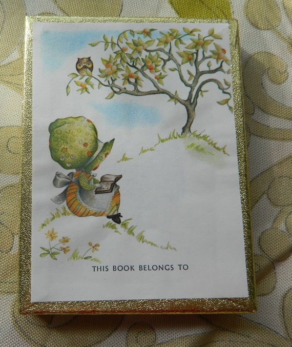 Owl in a Tree Set of 50 Vintage Antioch Bookplate Company Bookplates