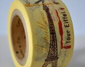 Deco Crafting Tape Wide Paris Souvenirs