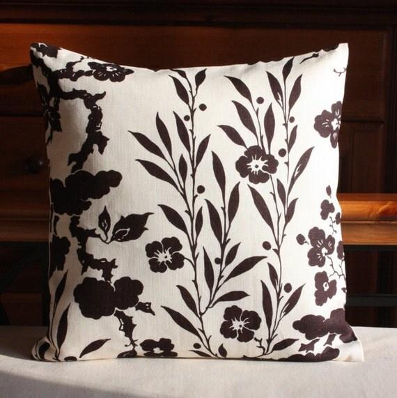 Items similar to Ralph Lauren Pillow Cover 18 x 18 Throw Pillow Accent Pillow Cushion Case Euro ...