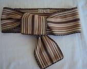 Genuine 1980s Calvin Klein Ethnic Textile Wrap Belt