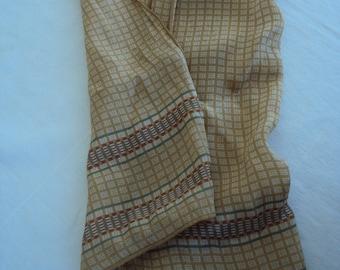 Pair of Vintage 1970s Anne Klein Oblong Scarves