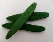 3 Pea Garden Markers
