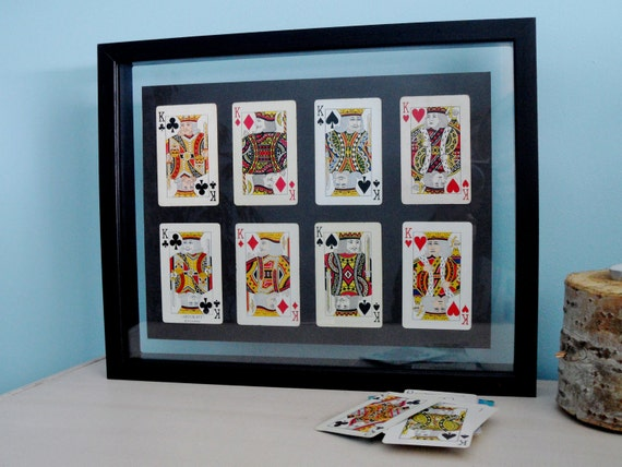 Vintage 1950's King Playing Cards -  READY TO SHIP
