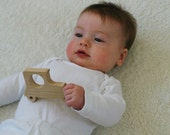 Car Baby Toy Wooden Teething Toy Eco Friendly Sustainable American Cherry or Maple