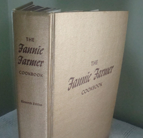 Vintage Fanny Farmer Cookbook Eleventh Edition 1965