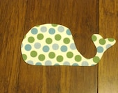 Whale Iron On Applique