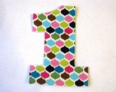 Number Iron On Applique-- Birthday Number Applique