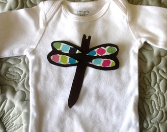 Dragonfly Iron On Applique