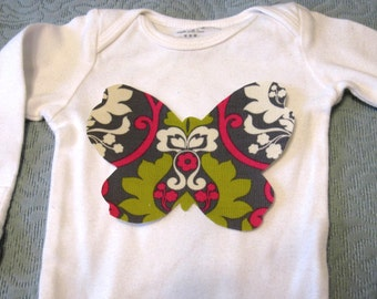 Spring Butterfly Iron On Applique