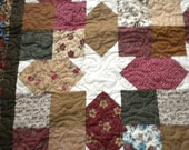 Lap Quilt With Stars