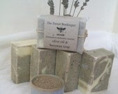 SALE SALE SALE Australian green clay and olive oil soap with lavender pine and peru balsam