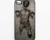 iPhone 4 Case Star Wars Frozen Han Solo Frozen in Carbonite