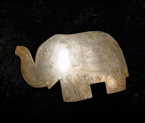 SALE. Hair clip. My Indian Elephant. SALE.