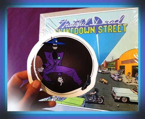 Shakedown Street Dude / Grateful Dead / Purple Series / High Quality Vinyl / Sticker