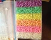 Glow in the Dark Pony beads OVER 3000 beads