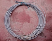 100pcs 18 inch 1mm thickness white stainless steel round choker necklace wires with screw clasps
