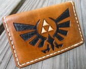 The Legend of Zelda Royal Hylian Crest Leather Card Wallet