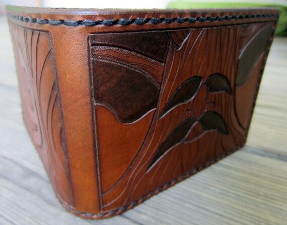 The Legend of Zelda Great Deku Tree Wooden Shield Leather Wallet