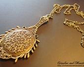 Evil Queen's Mirror Necklace