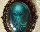 Cthulhu Cameo Adornment - Lovecraft Inspired Jewelry