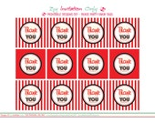 Movie Party - Favor Tags. Printables By Invitation Only DIY