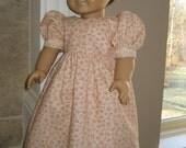 Regency/Jane Austen Era, early 1800s style Rosebud Dress for American Girl dolls, Felicity, Josefina, etc.