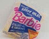 Rollerblade Barbie McDonalds Happy Meal toy 1991