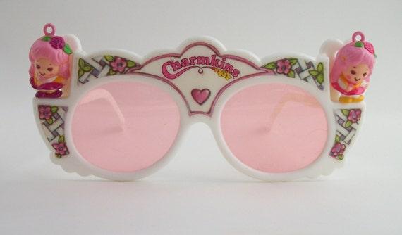 Vintage 1984 Hasbro Charmkins - Honey Bunch and Sunny Bunch with Sunglasses