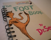The Foot Book Dr. Seuss Recycled Journal Notebook