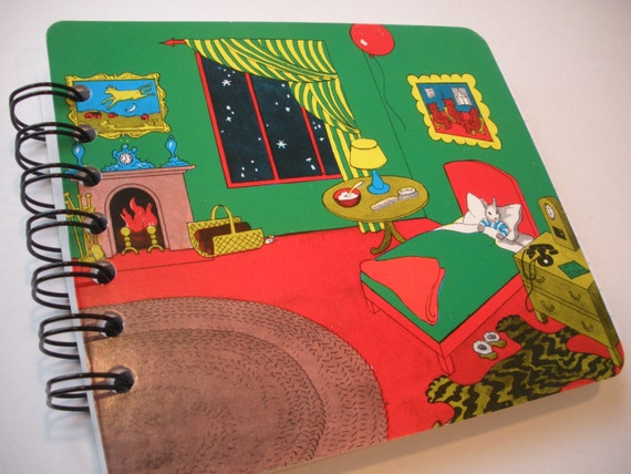 Goodnight Moon Recycled Book Notebook Journal