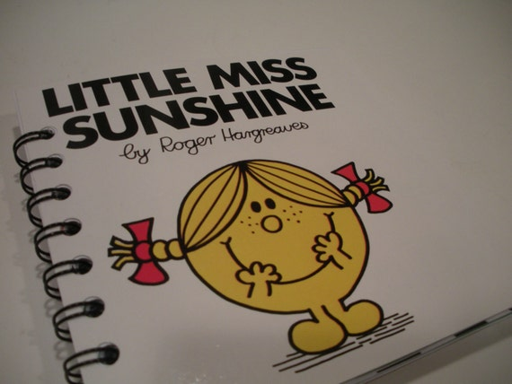 Little Miss Sunshine Recycled Notepad