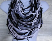 Tied T-shirt Coil Scarf