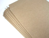 10 Kraft Rigid Mailers - Stay Flat Mailer Shipping Supplies